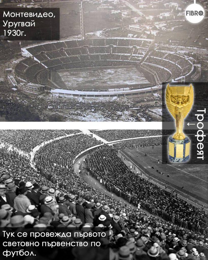 кратка история на първото световно по футбол