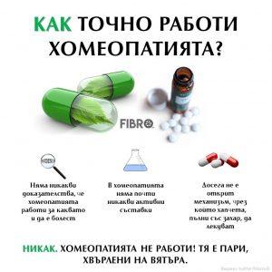 Хомеопатията не работи