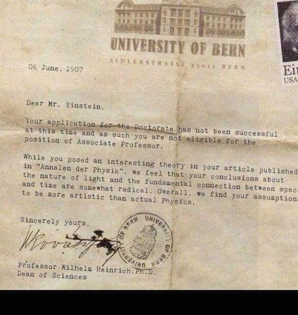 айнщайн писмото е измама