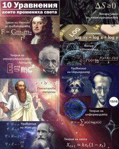10 уравнения, които промениха света