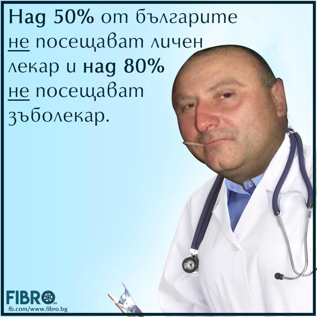 Българите и посещението им на лекари