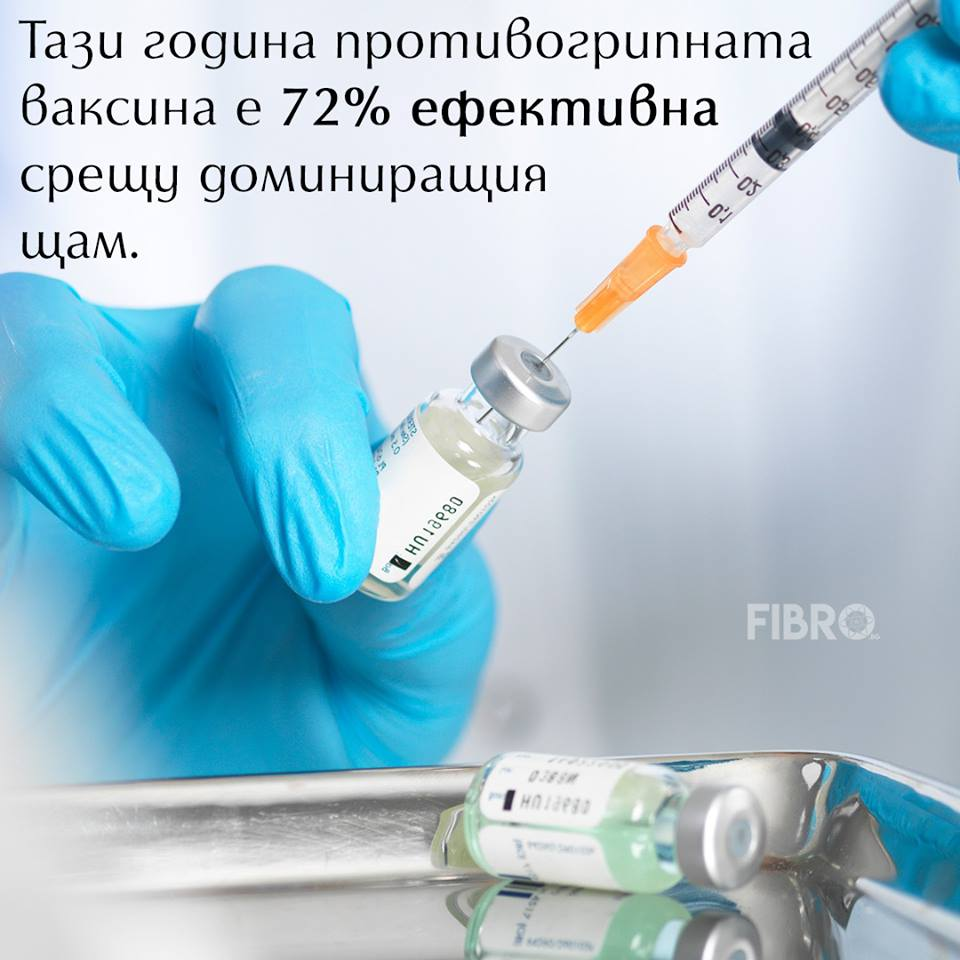 Противогрипни ваксини – много ефективни през тази година