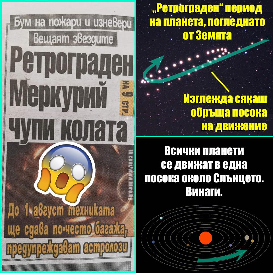 Пазете се да не загазите от ретрограден Меркурий!